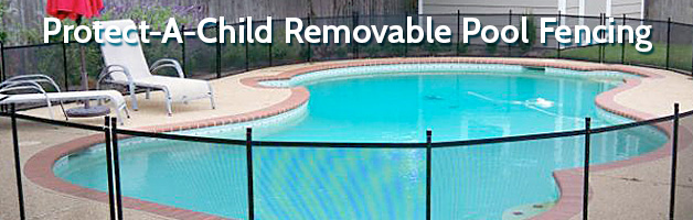 Protect-A-Child Removable Pool Fencing